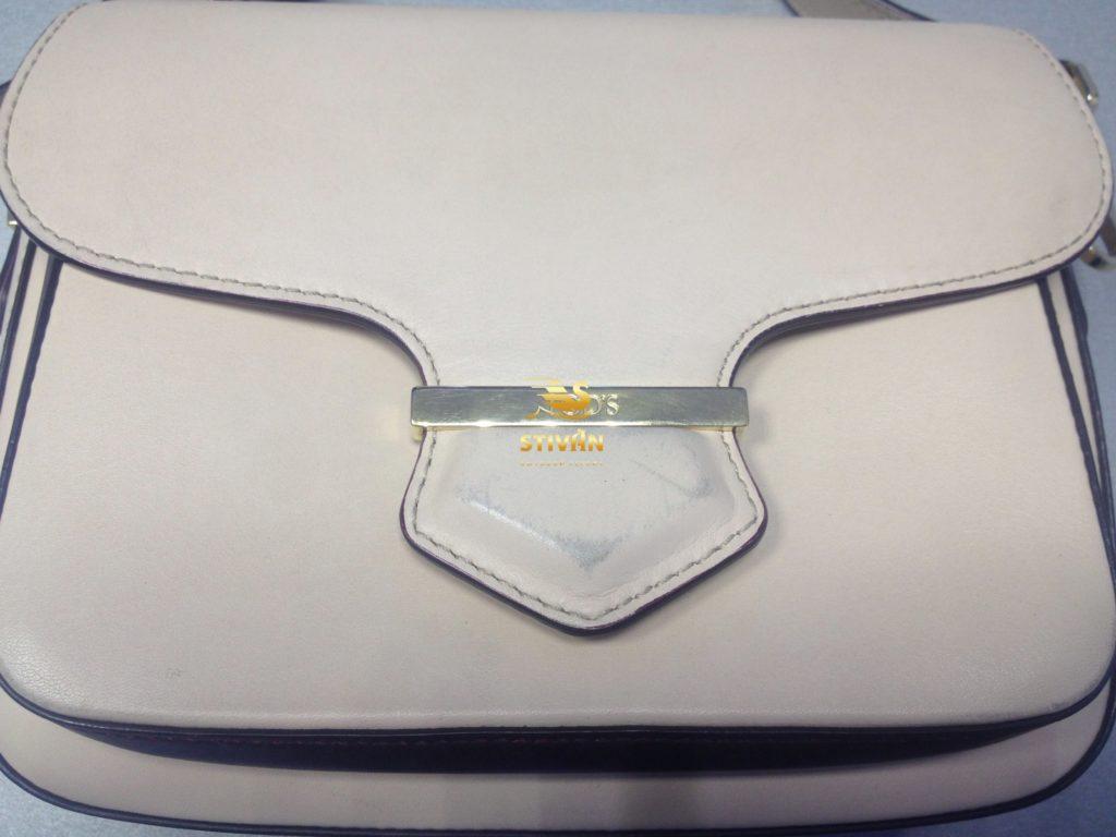 Частичная покраска элементов сумки ТОДc